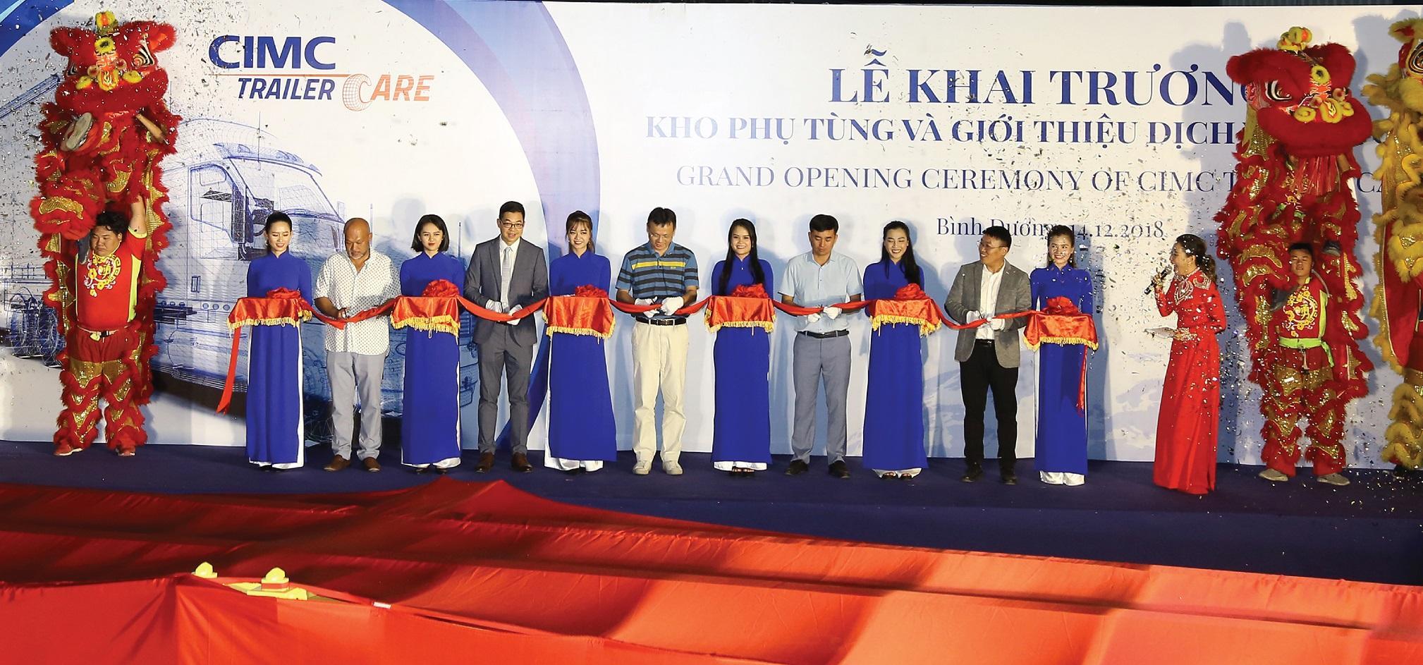 Khai trương văn phòng CIMC Việt Nam