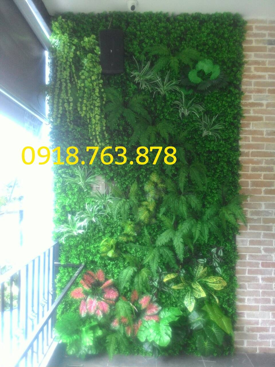 1m2 tường cây giả giá bao nhiêu? đơn giá thi công tường cây giả?