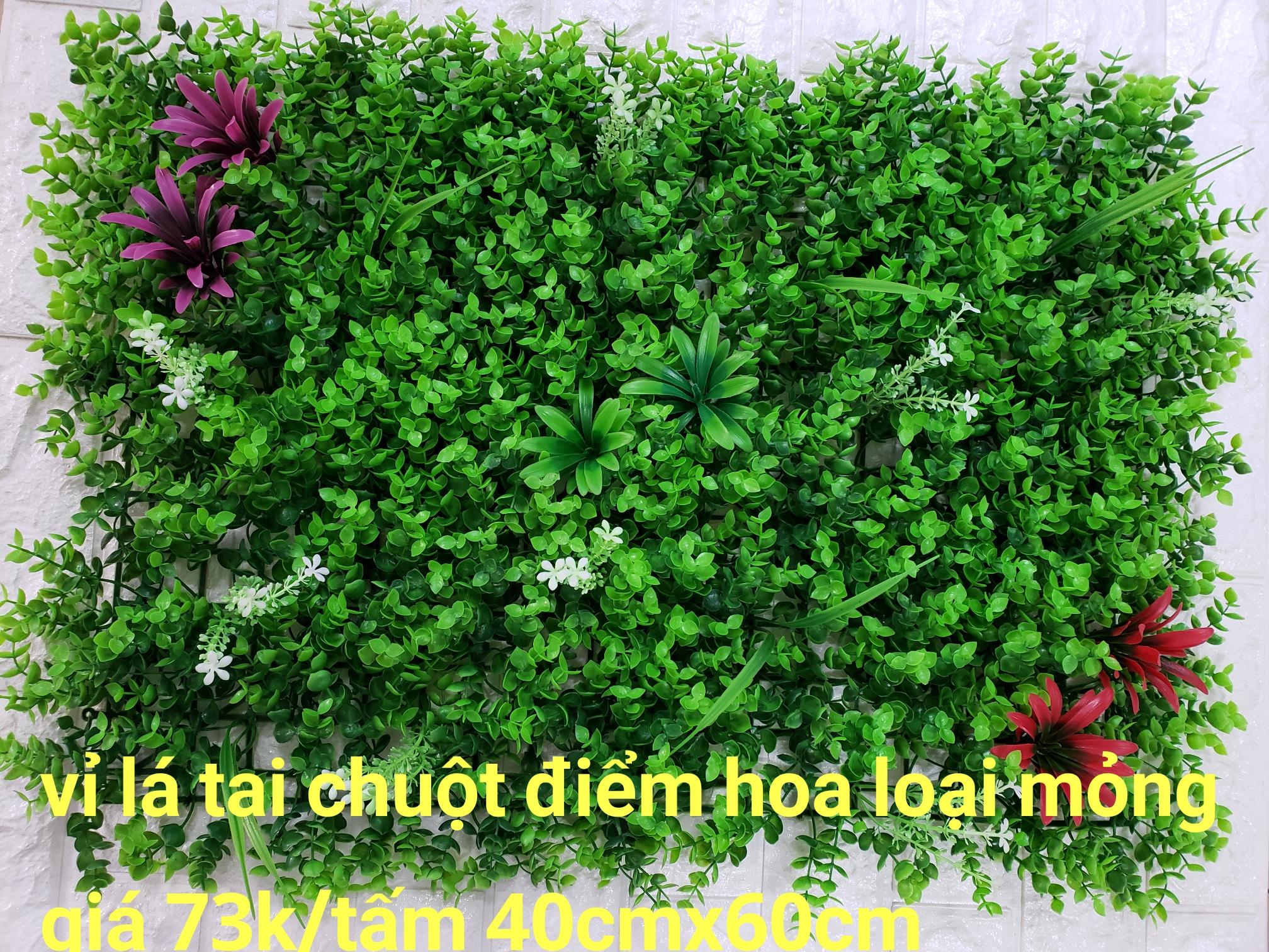 Nơi bán tấm lá nhựa, vỉ lá nhựa trang trí tường tại TPHCM