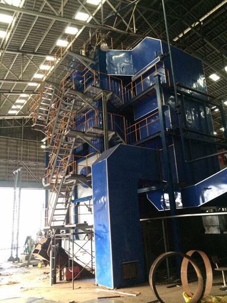 Lò hơi tầng sôi công suất 4-20 tấn