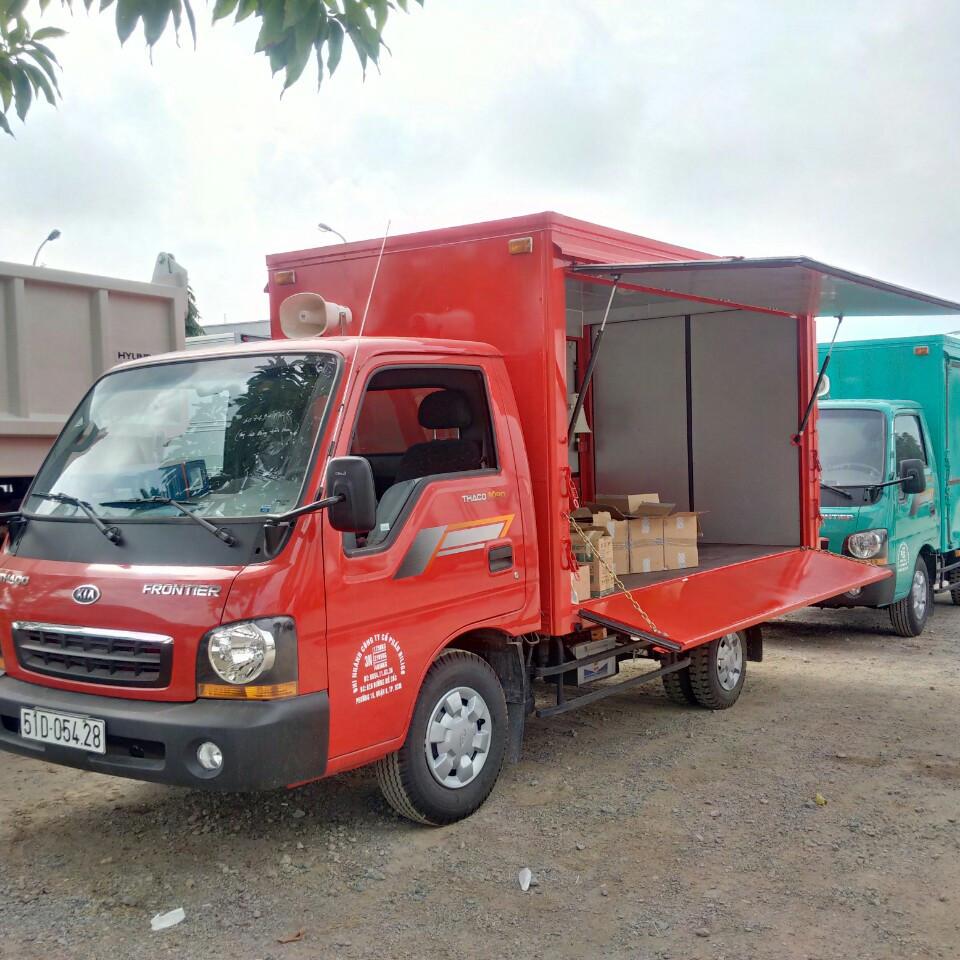 Xe tải Bán hàng lưu động k190