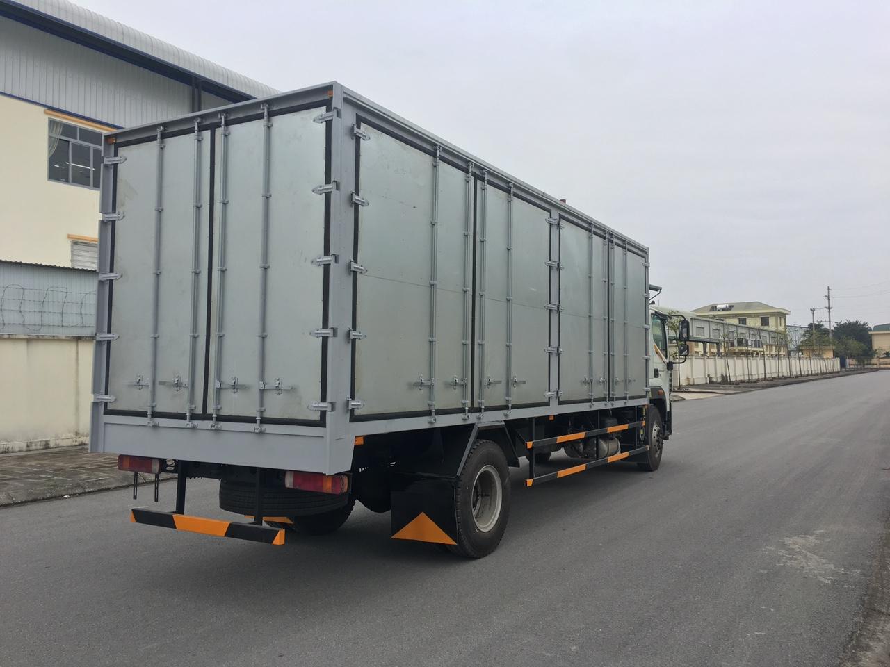 Auman C160.E4 thùng kín chuyên chở Pallet