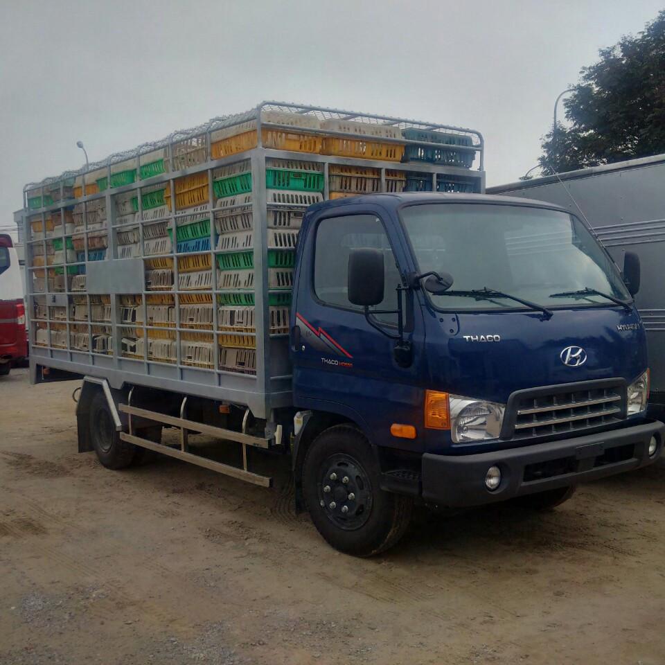 Xe chở gia cầm 6 tấn HD650