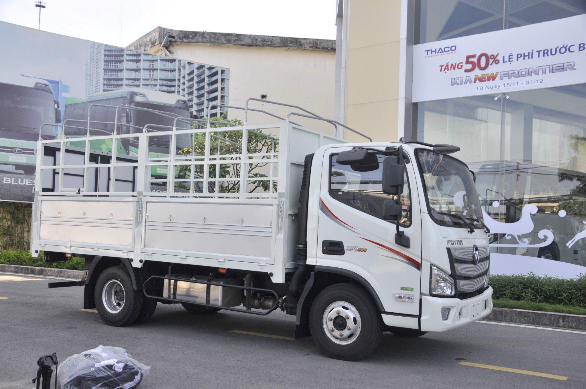 Xe tải 5 tấn cao cấp Foton M4 600
