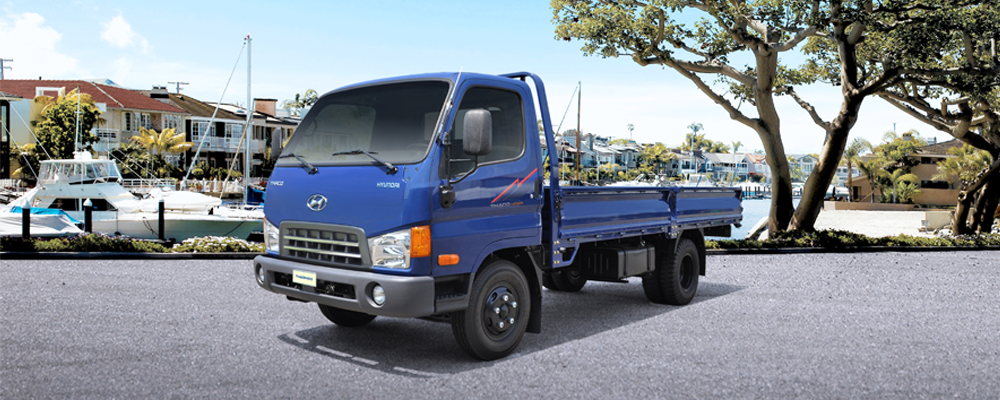 Xe tải HYUNDAI 5 tấn HD500