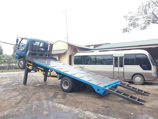 Xe nâng đầu 7 tấn Thaco Ollin700B