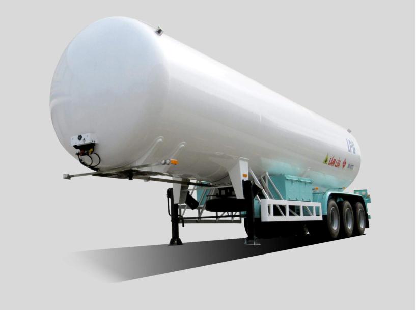 Romooc chở khí hóa lỏng LPG 53m3