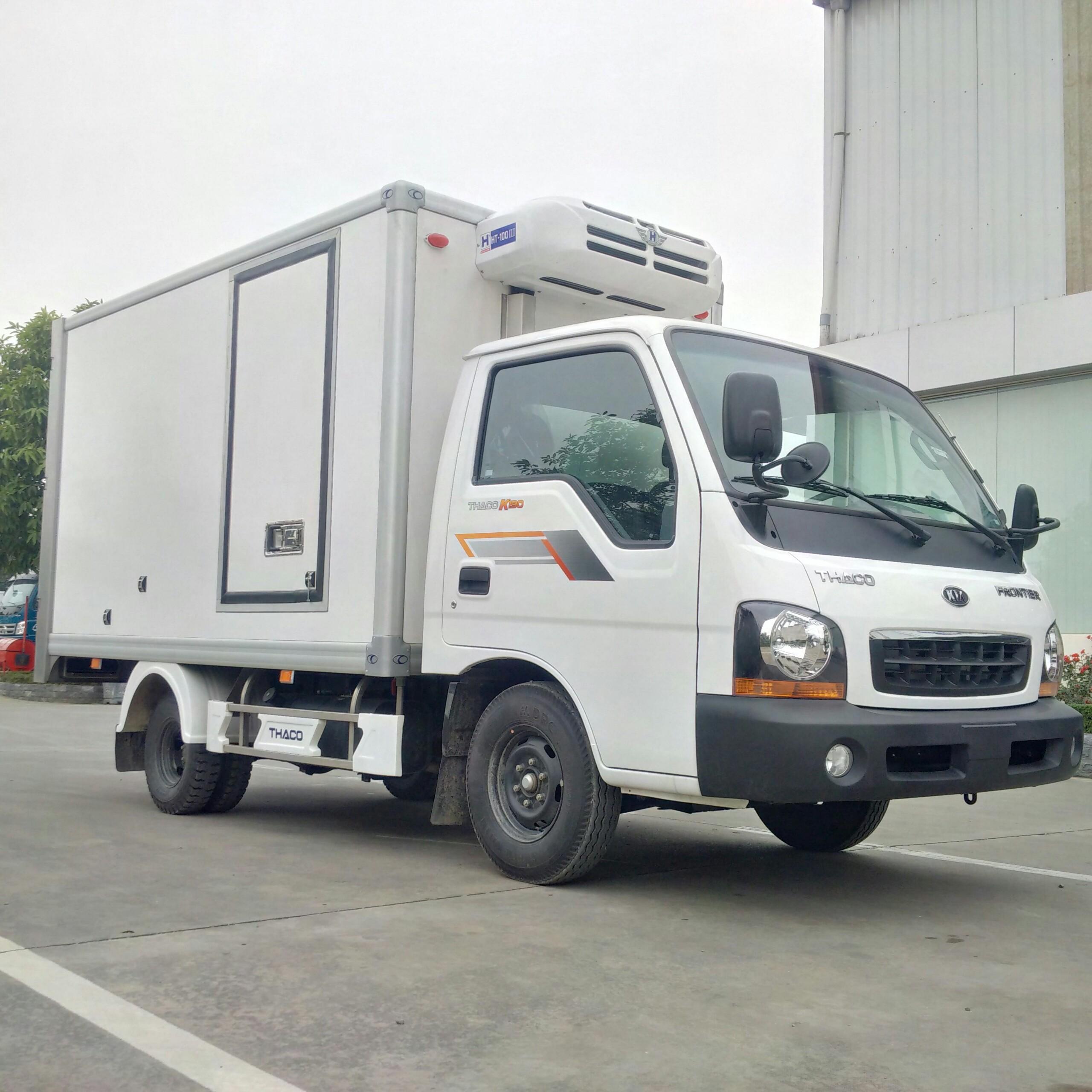 Xe tải đông lạnh KIA K190 tải trọng 1,5 tấn