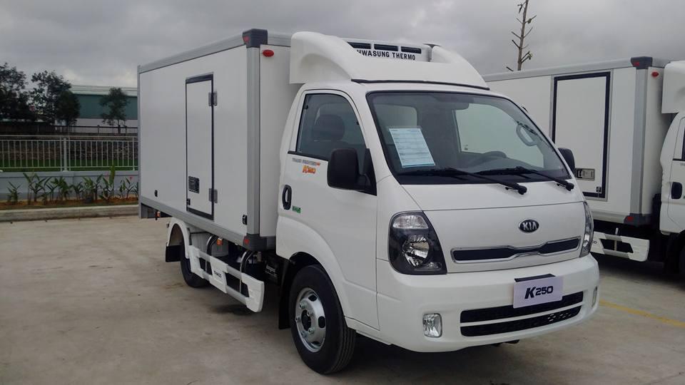 Xe đông lạnh 2 tấn KIA K250 (KIA Bongo)