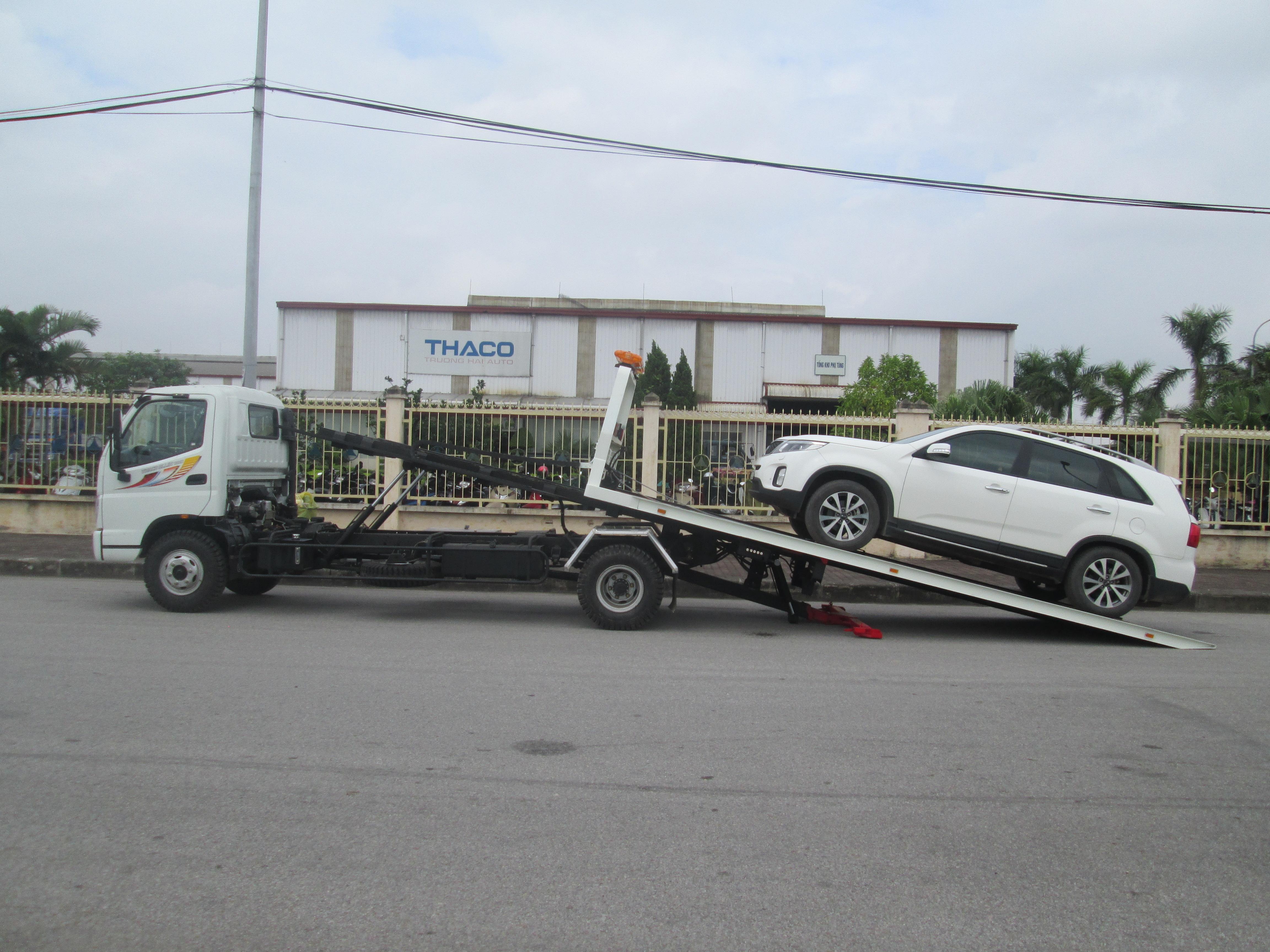Xe cứu hộ  Ollin700B 7 tấn
