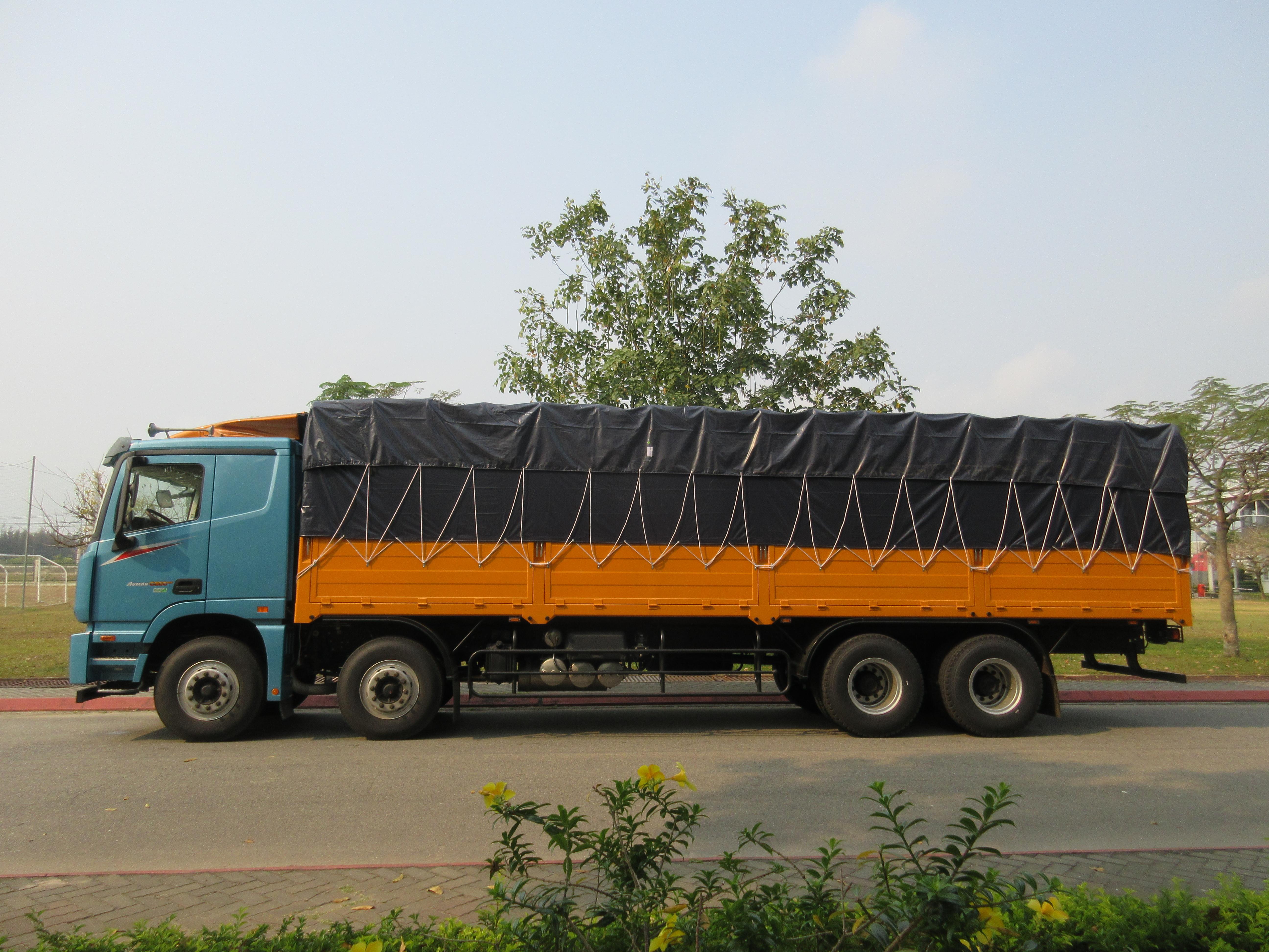 Xe tải 4 chân AUMAN EST C300.E4 Euro 4
