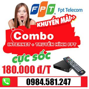 GÓI CƯỚC COMBO TRUYỀN HÌNH VÀ INTERNET FPT TẠI BIÊN HÒA