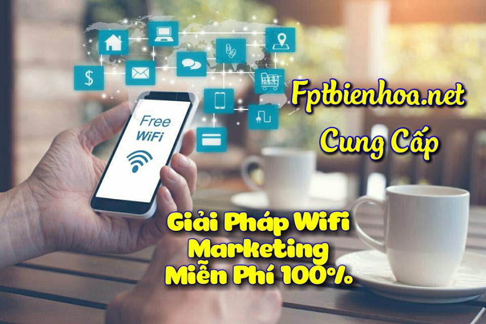 Giải Pháp Internet Wifi Marketing FPT Miễn Phí 100%