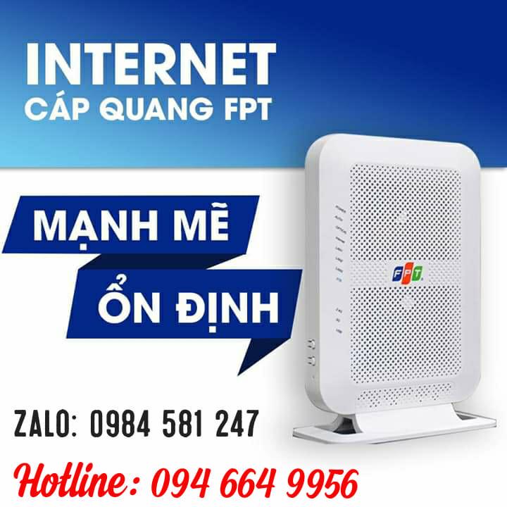 Lắp Mạng Cáp Quang FPT Khuyến Mãi Tháng 5-2019 Miễn Phí 100%|FPT Biên Hòa