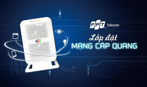 Lắp Mạng Cáp Quang FPT Biên Hòa Miễn Phí 100% | Tặng Bộ Phát Wifi, Đầu Thu 4K