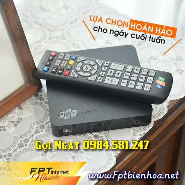 Dịch vụ truyền hình HD FPT Biên Hòa