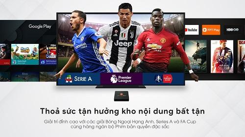 Kho Nội Dung Phong Phú Trên FPT Play Box