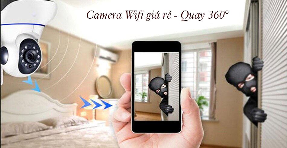 camera wifi giá rẻ cho hộ gia đình