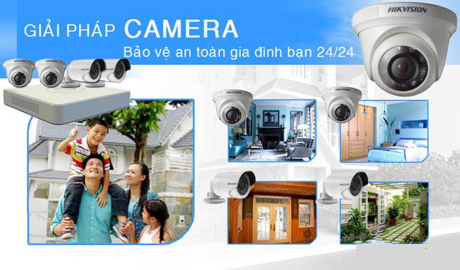 Lắp đặt camera hộ gia đình