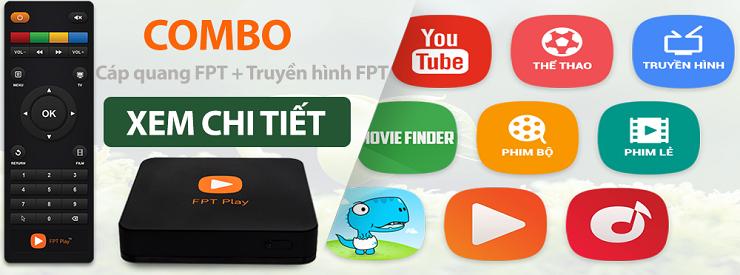 Gói cước combo truyền hình internet fpt tại Biên Hòa