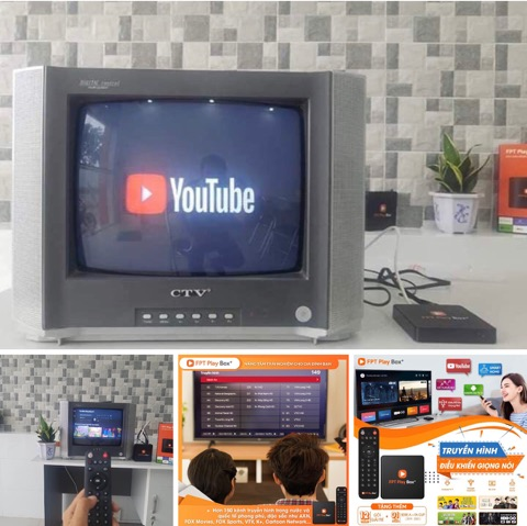 fpt play box biến tivi thường thành tivi thông minh
