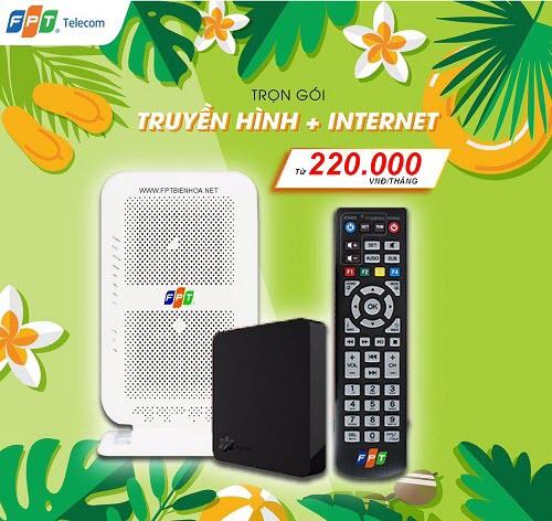 Lắp đặt internet FPT Biên Hòa Khuyến Mãi Tháng 06/2020
