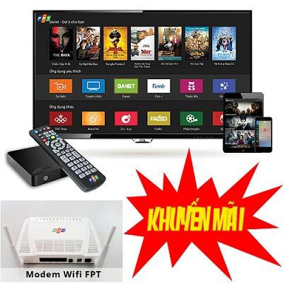 tặng bộ phát wifi + đầu HD cho khách khi đăng ký gói combo truyền hình internet