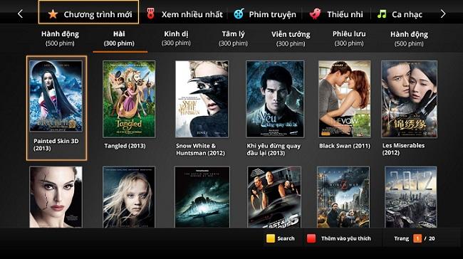 Kho Phim HD Miễn Phí của Truyền Hình FPT Biên Hòa
