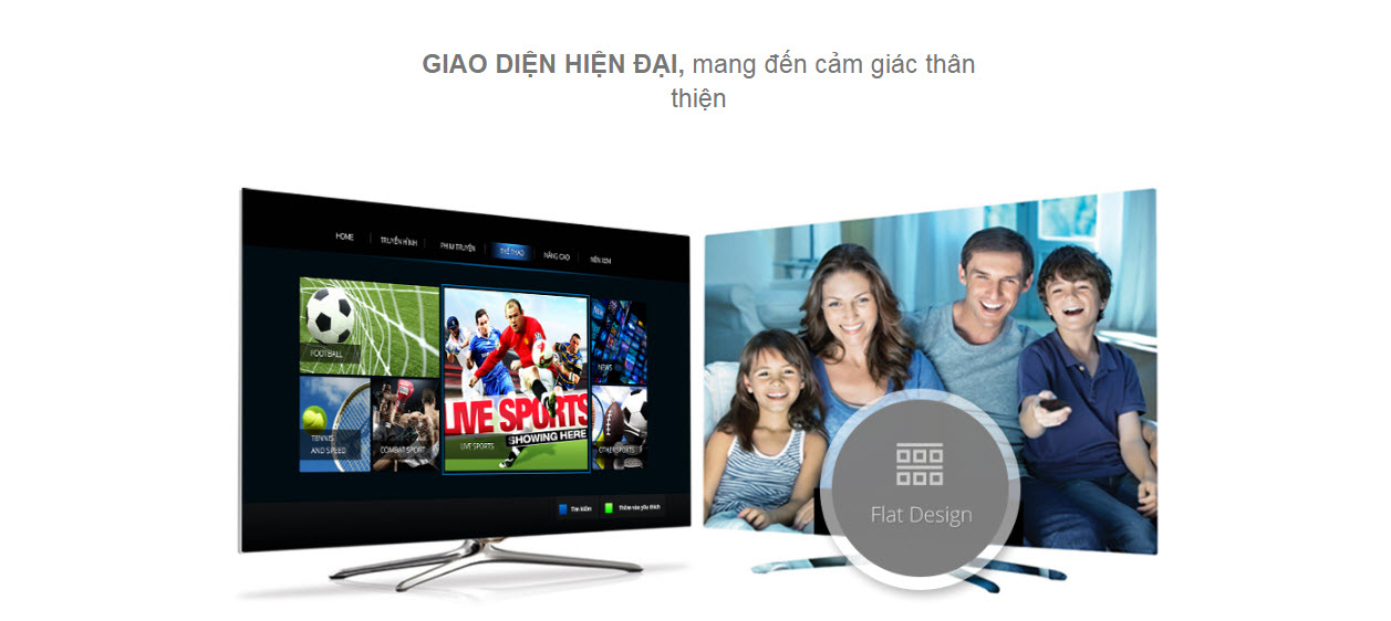 FPT PLay cho Smart TV, TV Internet