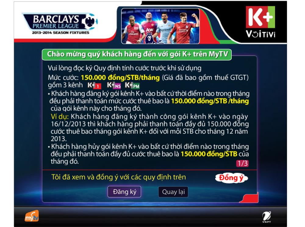 K+ Mytv