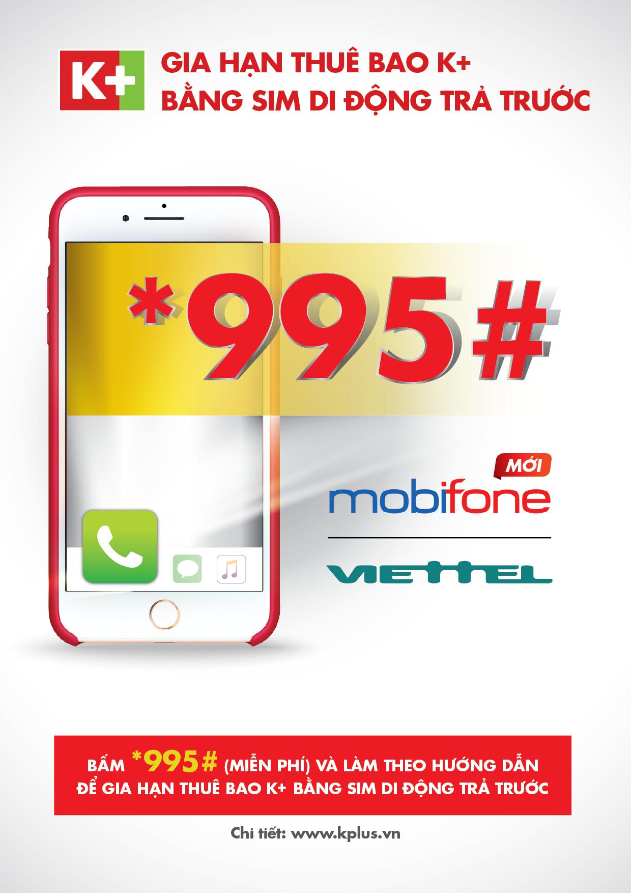 gia hạn k+ bằng thẻ cào viettel, mobifone