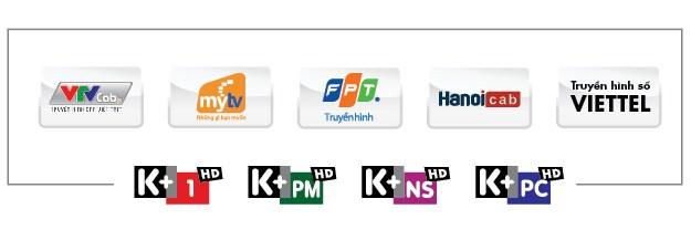Gói kênh K+ ra mắt trên hệ thống truyền hình cáp Hồ Chí Minh HTVC