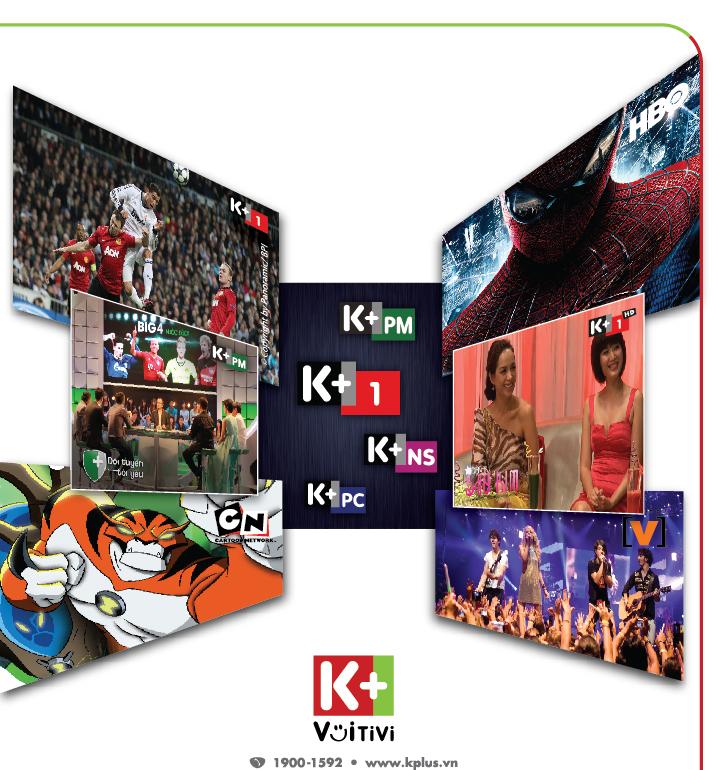 Lịch phát sóng thể thao trên truyền hình K+ tuần 44 (24/10/2015 - 30/10/2015)
