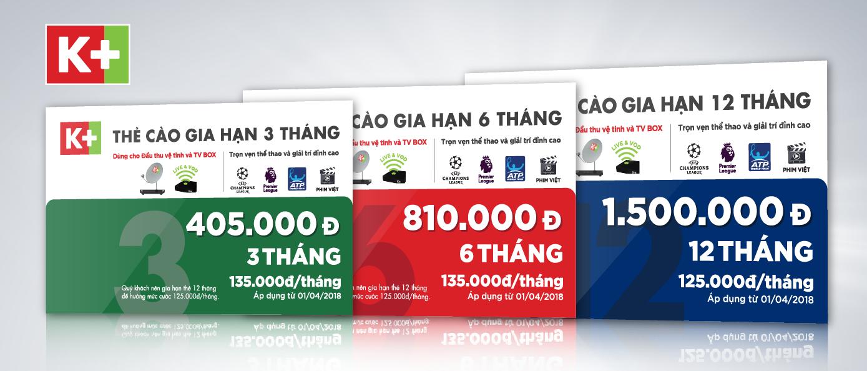 NẠP THẺ THUE BAO GIA HAN K+