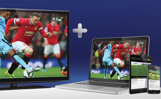 Có thể xem K+ trên trình duyệt web hoặc smartphone
