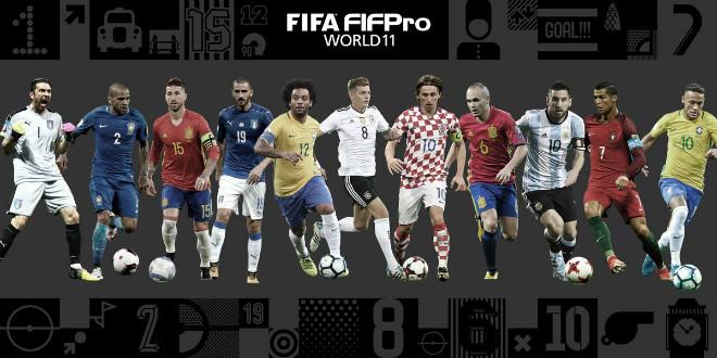 Dàn ngôi sao xuất sắc nhất FIFA 2017, bạn còn nhớ ?