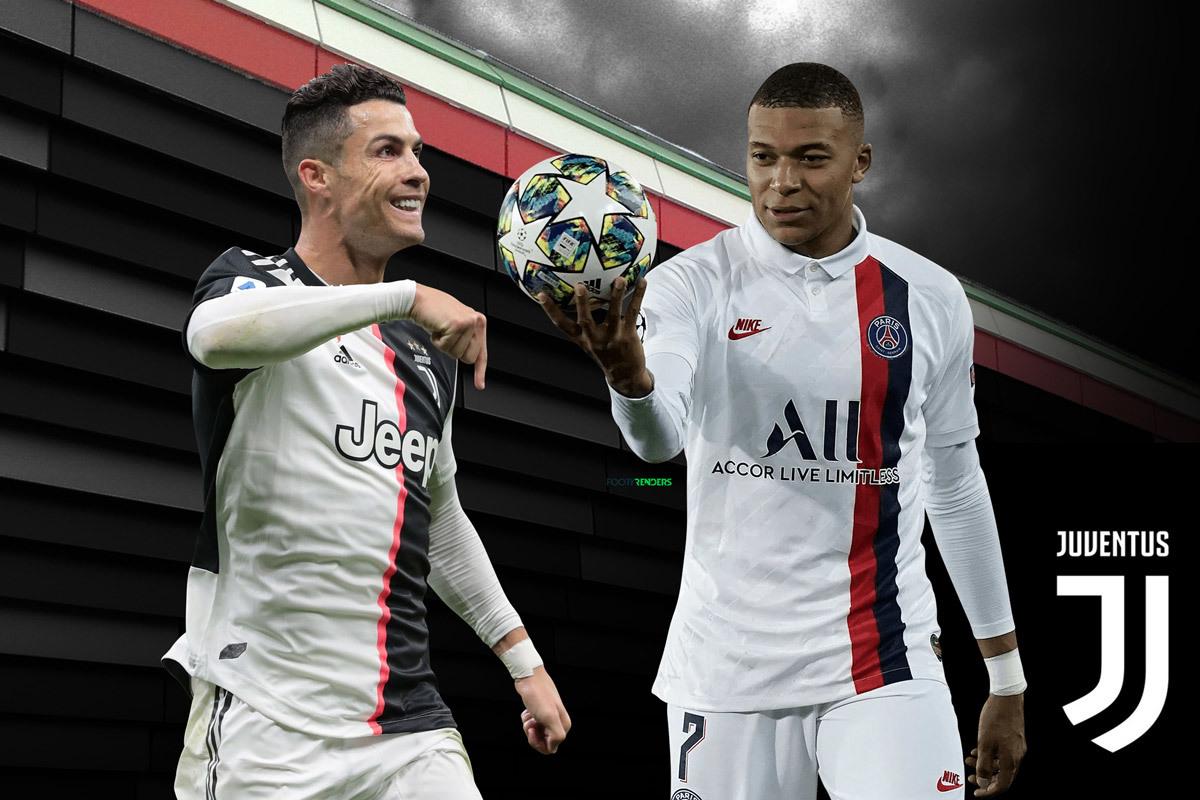 Juventus chi 230 triệu euro, lấy Mbappe đá cặp Ronaldo