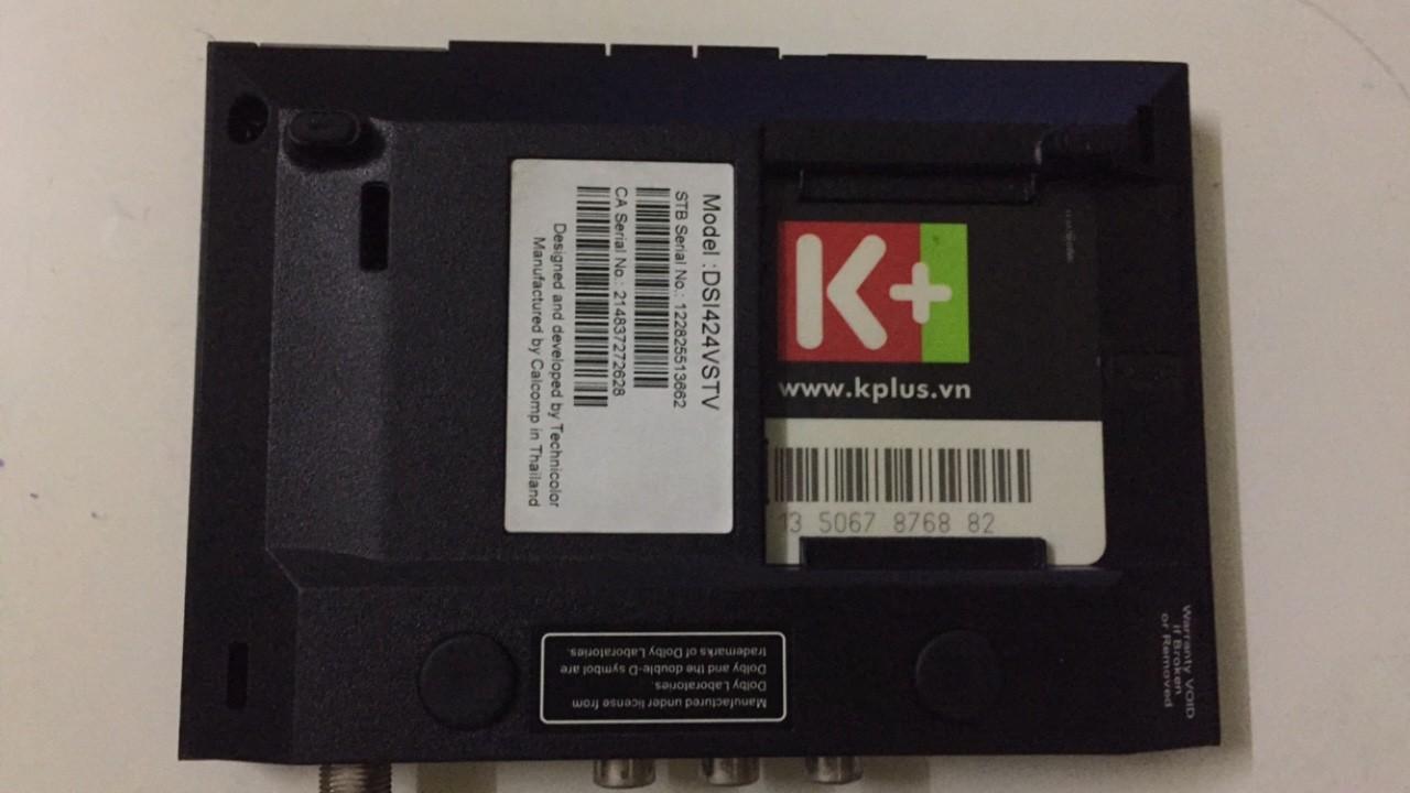 Số thẻ giải mã K+