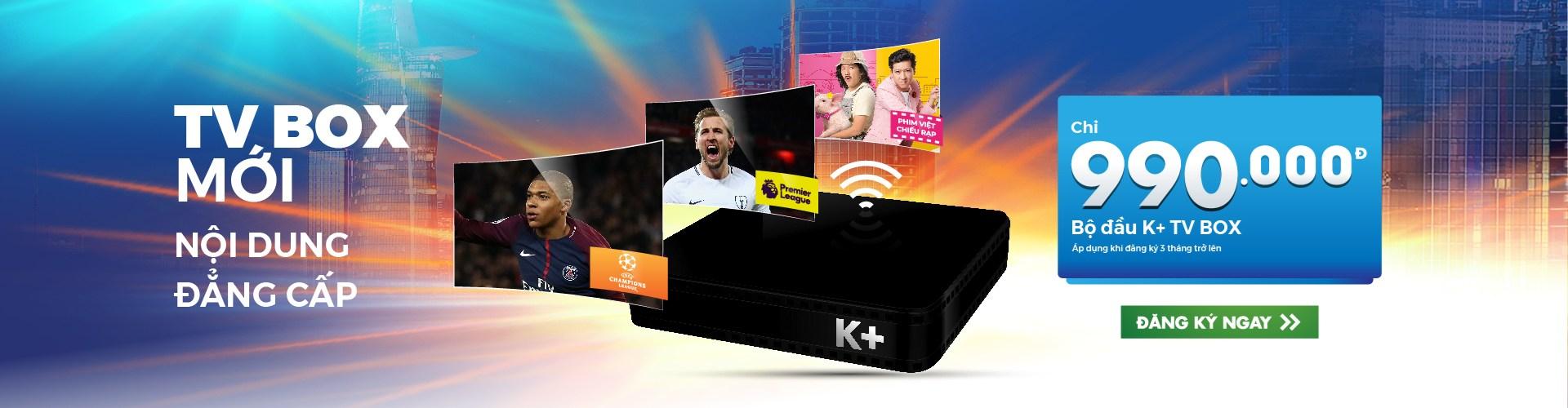 k+ tv box