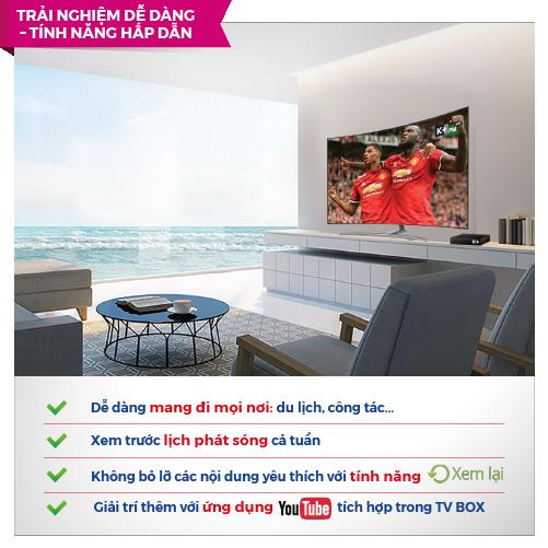 Truyền hình K+ ra mắt truyền hình OTT