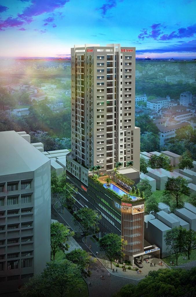 Dự án 317 Trường Chinh: Căn hộ cao cấp khách sạn 5 sao giữa lòng Hà Nội