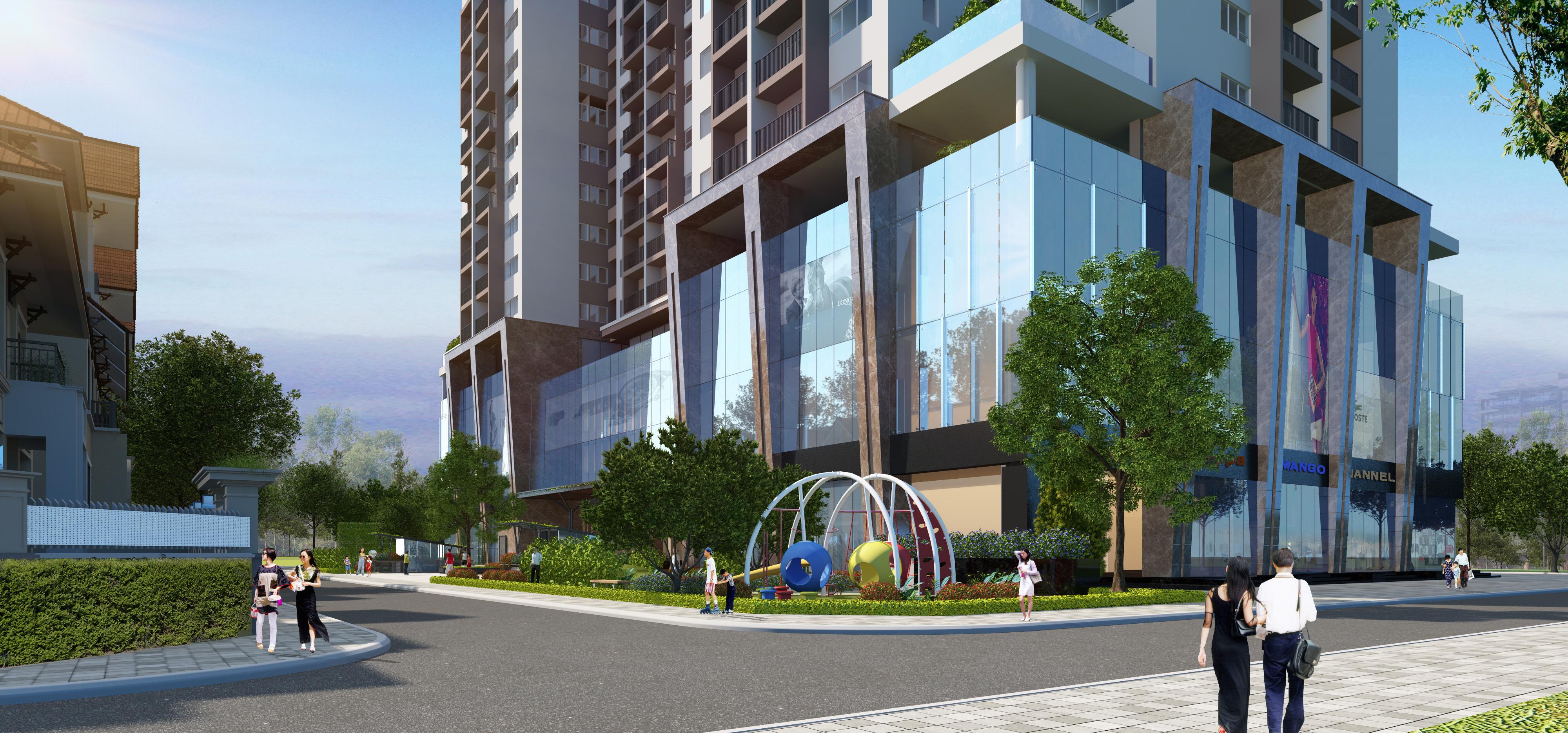 Vị trí chung cư Thanh Xuân Complex nằm ở đâu trong phân khúc cao cấp