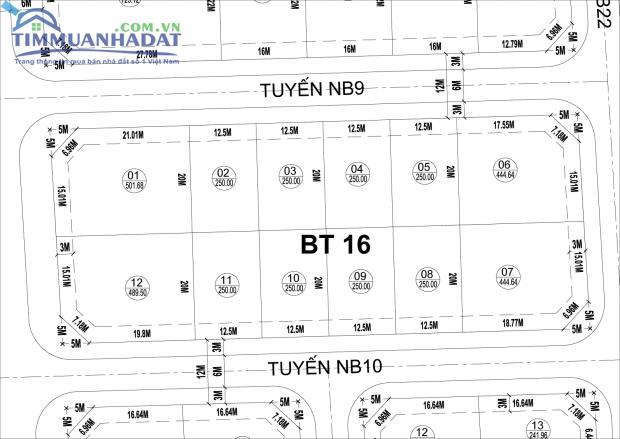 Biệt thự song lập BT16 KĐTM Phú Lương, Hà Đông, Hà Nội