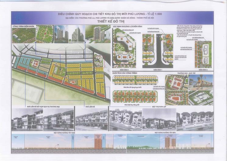 Liền kề dự án Phú Lương
