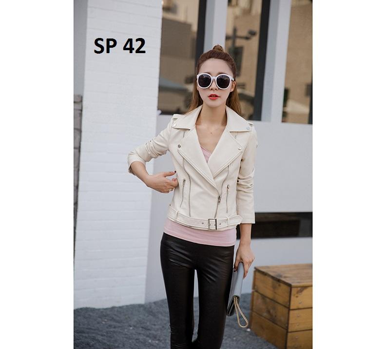 Áo da nữ cao cấp, hàng nhập, phong cách, sành điệu - SP 42