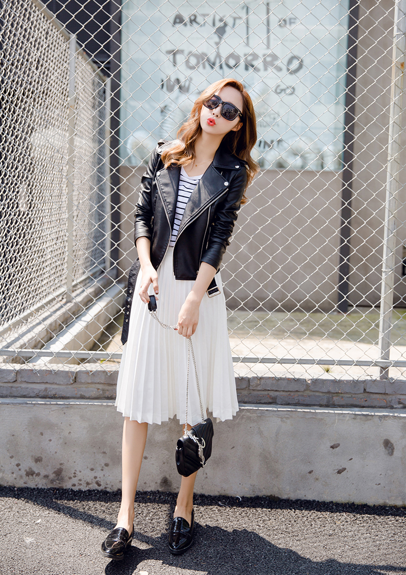 Áo da nữ cao cấp, hàng nhập, phong cách, sành điệu - SP 43
