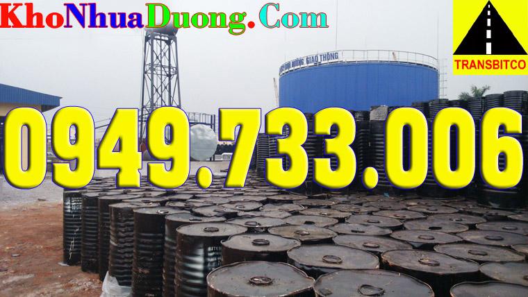 Nhựa đường IRAN Bitumen 6070 giá rẻ