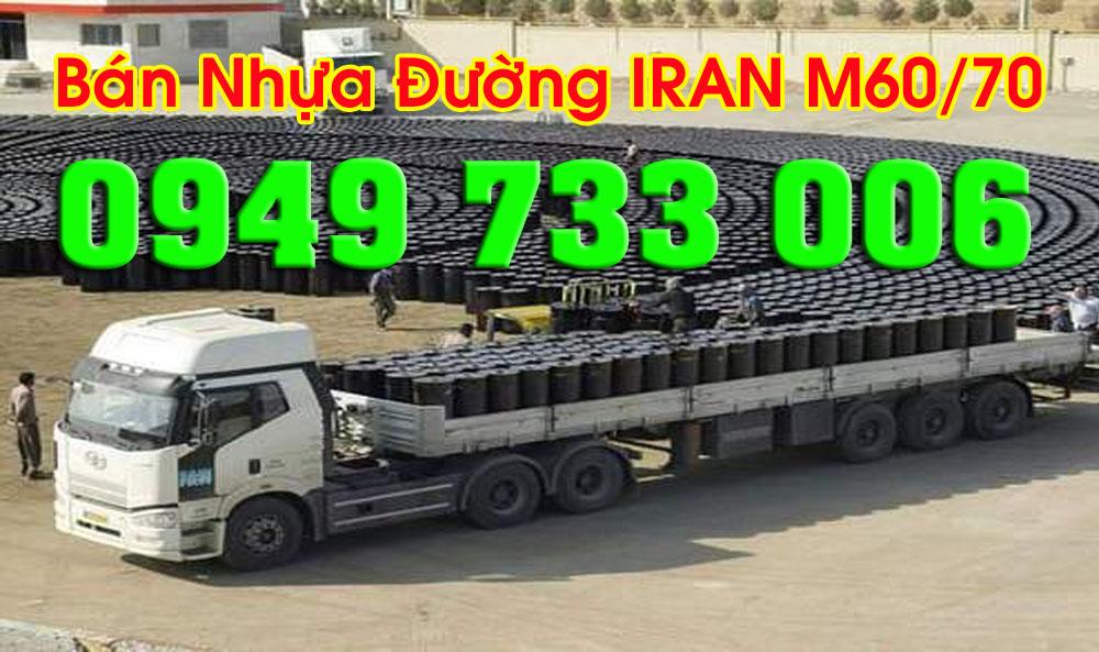 Báo giá nhựa đường IRAN tháng 09/2018