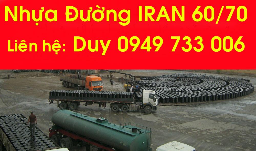 Giá nhựa đường IRAN hôm nay