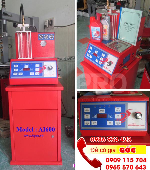 Máy súc rửa béc phun xăng điện tử Đài Loan AI600